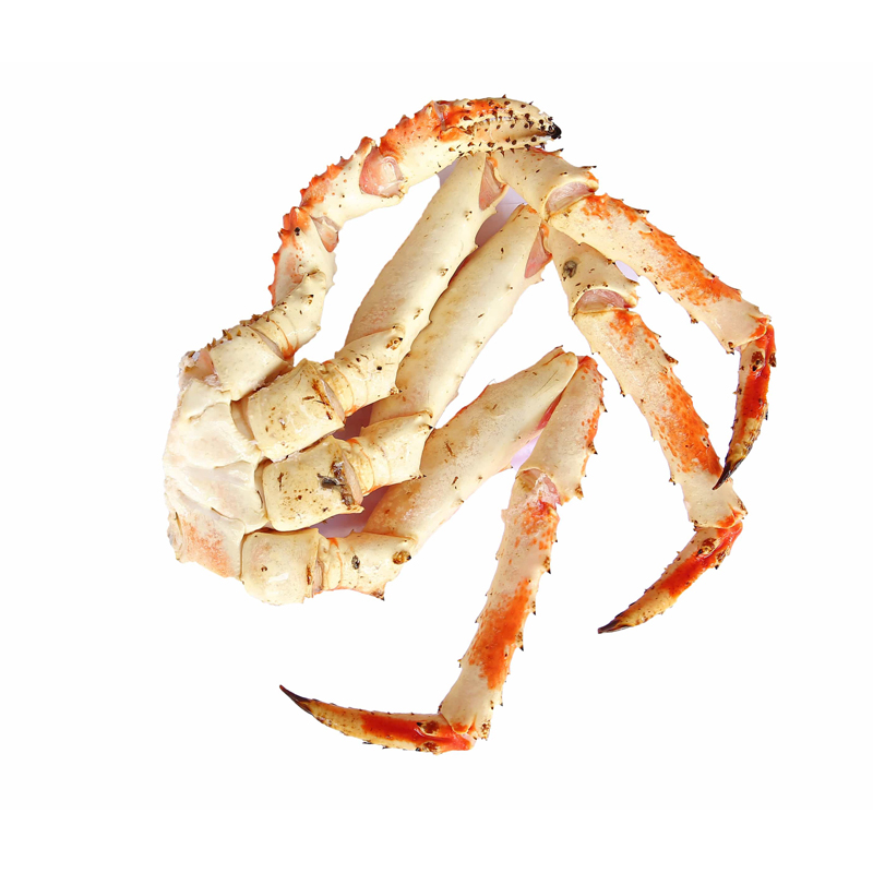 Frozen Cooked Alaskan king crab leg (3 Legs + pincer)